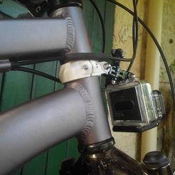 Fixation GoPro vélo 40mm