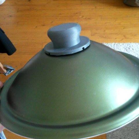 Poign e de couvercle de casserole po le for Cuisine 3d boulanger