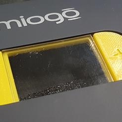 Support souple du bouton plus/moins pour le Miogo
