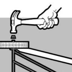 Hub cap for Weber griller master touch