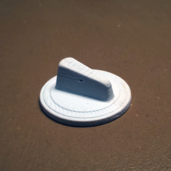 Bouton triangle de plaque chauffante