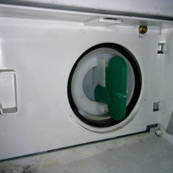 Clef pour filtre sèche linge Siemens