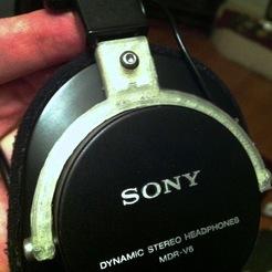 """Sony Headphones """"Hanger"""" Part"""
