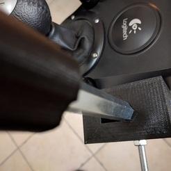 Logitech G25/G27 Hand brake case