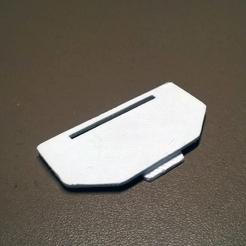Happy3D fr - Logitech G700s Battery Door 3d printed