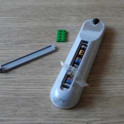 cover for battery compartment, TV remote control