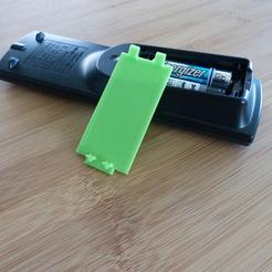 panasonic S33 DVD remote battery cap