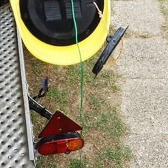 Weta trimaran Hull Ventilation cap