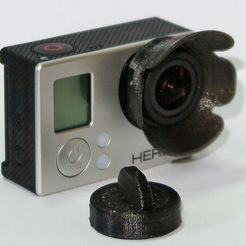 Gopro Hero 3+ Lens Cap