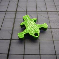 Happy3D fr - Spektrum DX6i Replacement Trim Tabs 3d printed