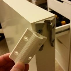 IKEA MALM Desk slide mechanism