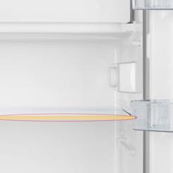 baguette de clayette d'un réfrigérateur