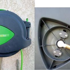 Réparation dérouleur tuyau d'eau