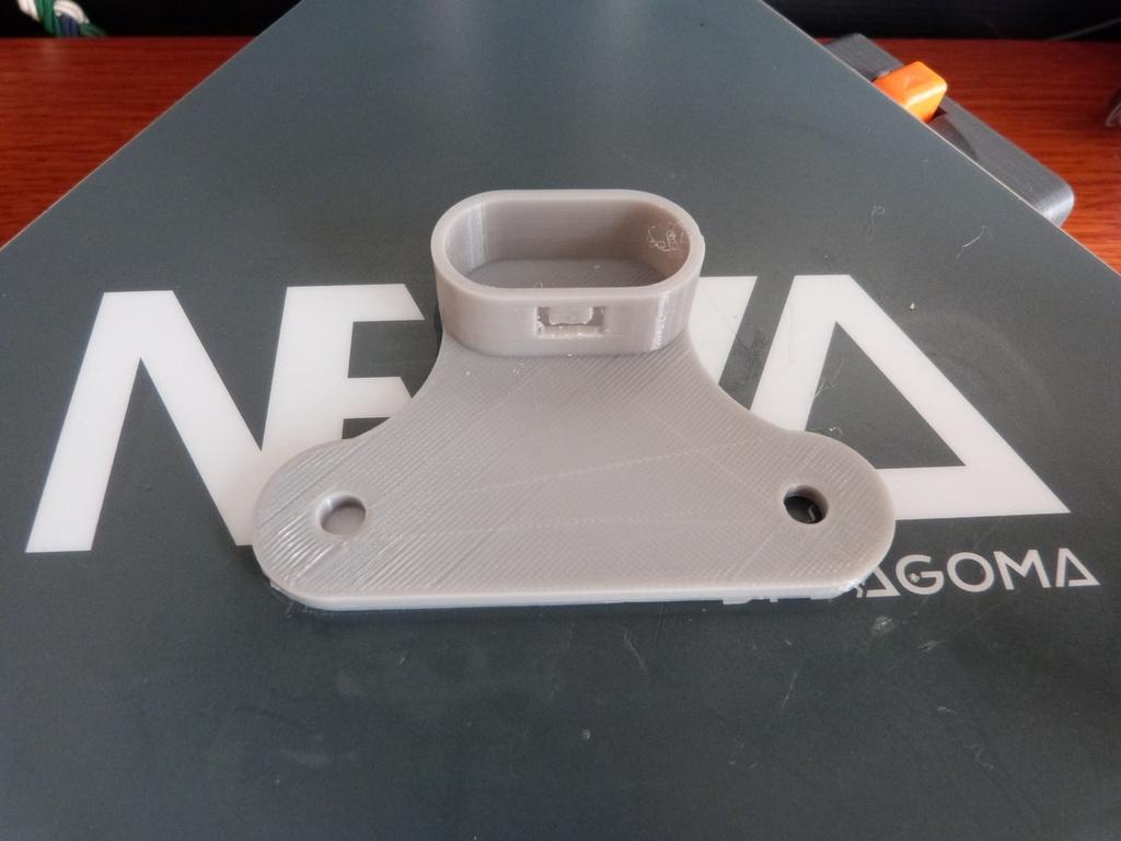 Support Tringle Rideau Ikea happy3d.fr - clothes rail holder ikea 3d printed
