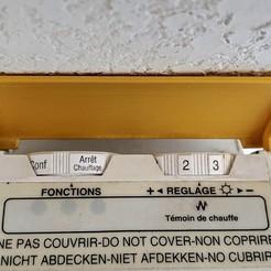 Radiator trapdoor