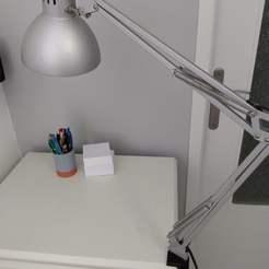 Desk lamp stand