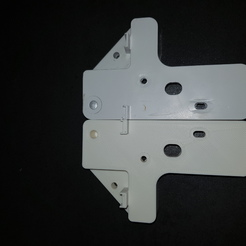 Pied de frigo - axe de porte