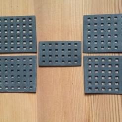 Dishwasher basket Grids