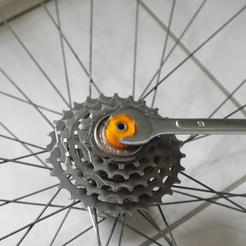 Extracteur de roue libre - vieux vélo