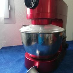 Bouchon robot pâtissier