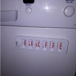 dish washer indicator