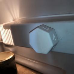 Bouton de thermostat frigo
