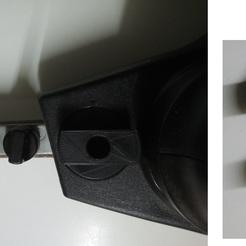 Bouton réglage tension lime électrique