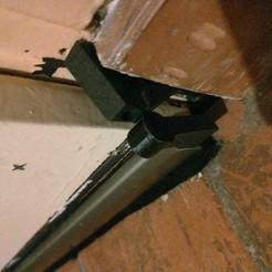 Pivot bas de porte automatique plasto