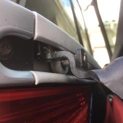 Roulette de porte Peugeot 1007