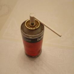 tuyau pour lubrifiant en bombe